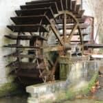 La roue du moulin de Penthièvre