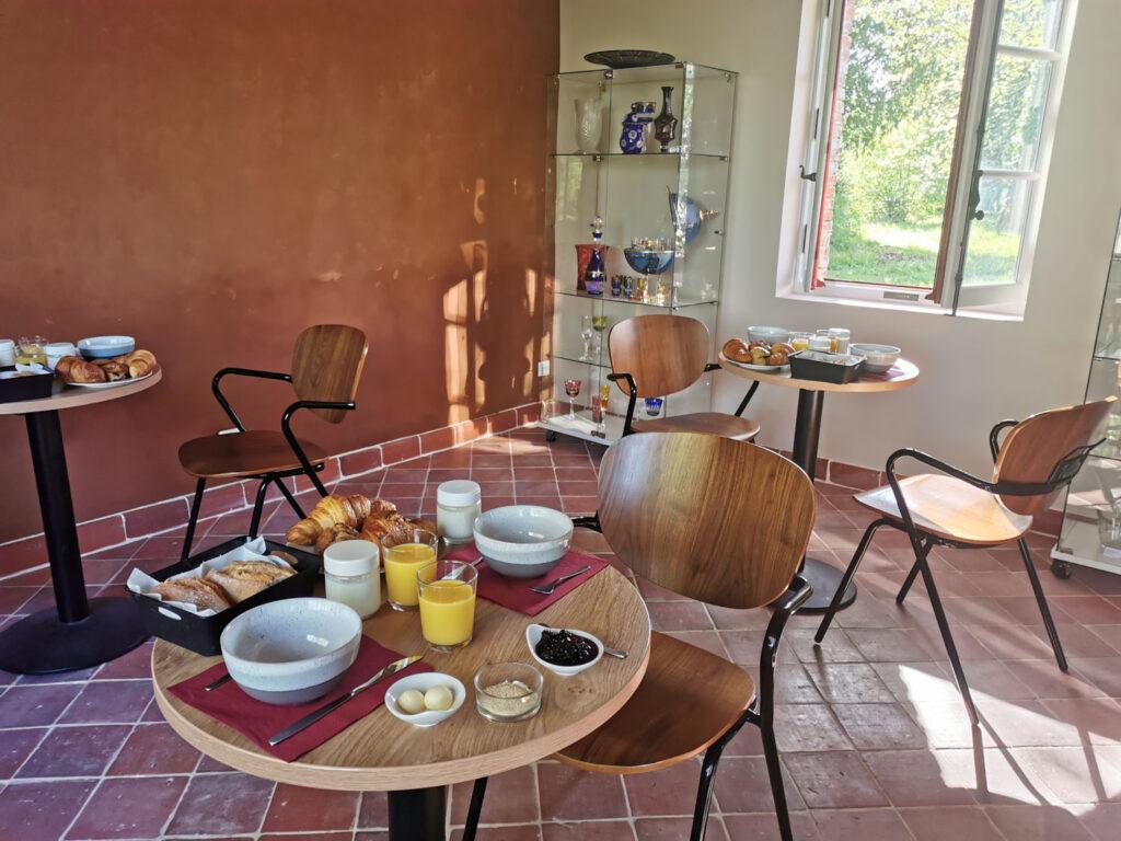 Petit-déjeuner au Domaine de Penthièvre