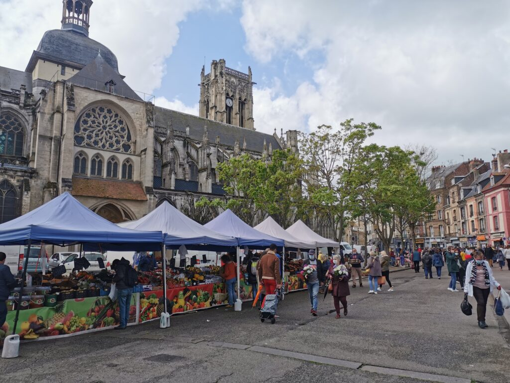 Marché de Dieppe