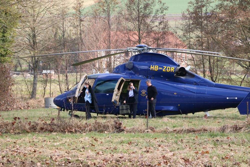 Hélicoptère de Rothschild